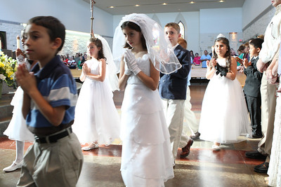 2014 First Communion Saturday Mass