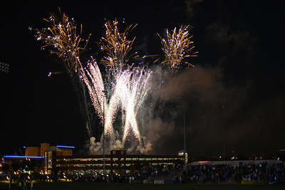 SLU Homecoming Fireworks 2012