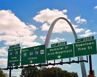 St. Louis - Gateway to the West ...and the South, and the North, and the East, and oh yeah, a few local places as well.