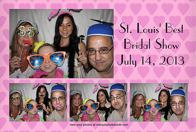 St Louis Best Bridal Show 7-14-13