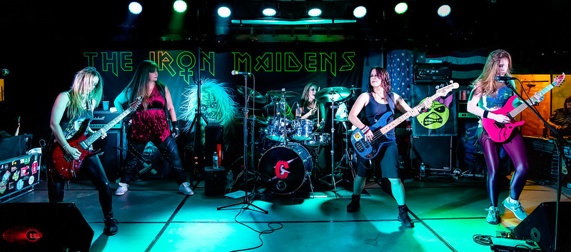 THE IRON MAIDENS @ Eddies Granite City IL