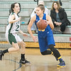 Gateway's Becca Herman drives against St. Mary's defender