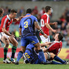 Cian Healy gets injured in a tackle 5/6/2013
