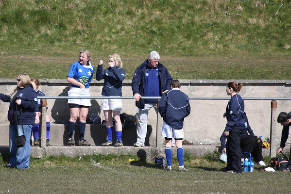 Women 1st XV - AIL Plate Final v Portlaoise 6 April 2013 at Clanwilliam RFC