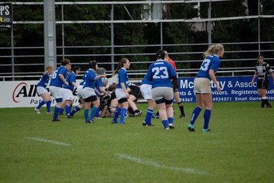 Womens 1sts v Old Belvedere September 2012 (photos by Ian Murray)