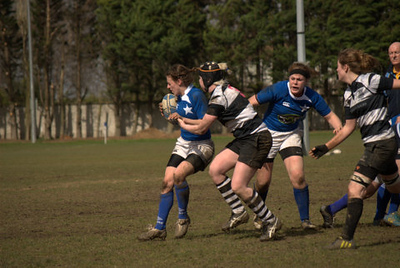 Womens 2nd XV v Old Belvedere April 2013 (photos by Ian Murray)
