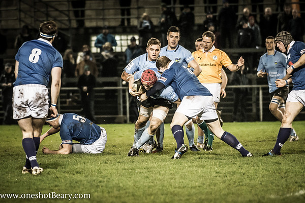 1st XV v UCD 31.01.2014 by Tom Beary