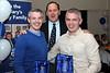 Richard Pyne, Steven Hennessy (Club President) and Owen Clery