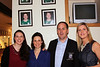 Paula Fitzpatrick, Gill Nolan,  Steven Hennessy (Club President) and  Orla Fitzsimmons