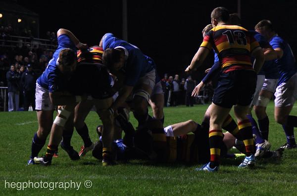 1st XV v Lansdowne (H) 07.11.2014 by Kevin Hegarty