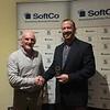 Kevin Conboy presents D.P Smyth J5 Blitz medal to Taylor Berliant