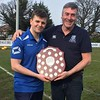 The men behind the team, Coach Ian Robinson and manager Mikey Coyle