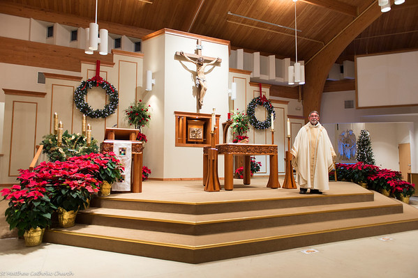 Christmas Eve Mass at St Matthew Catholic Church