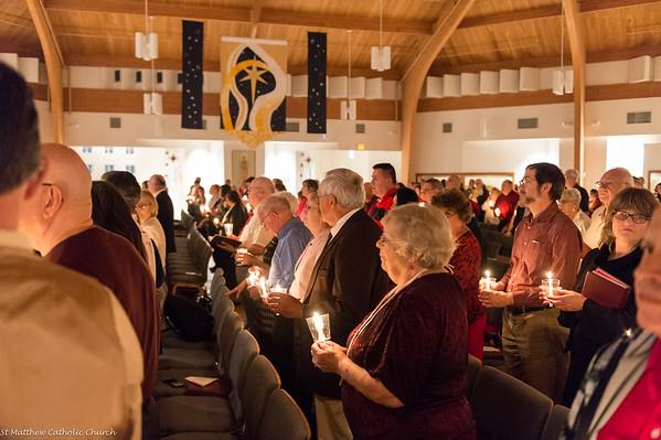 2014 Christmas Eve Mass at St Matthew Catholic Church