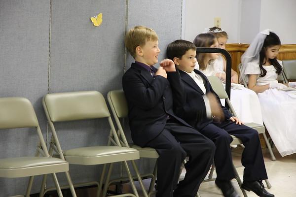 2009 First Holy Communion, 1 p.m. Mass