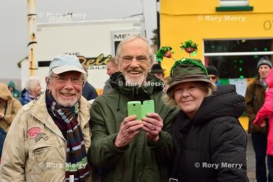 Saint Patrick Banishes Snakes form Ireland