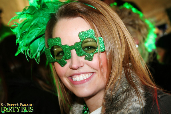 St. Patty's Parade Party Bus 3.16.14