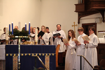 THE ST. PETER'S CHURCH CHOIR, RIGHT SIDE