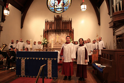 THE ST. PETER'S CHURCH CHOIR