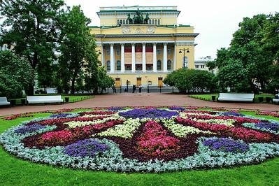 A park in St. Petersburg
