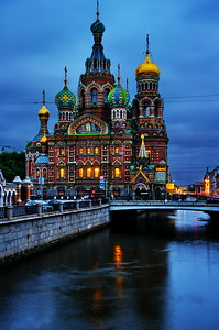 The Church of the Savior on Spilled Blood   Photo info:  Nikon D3s, 24-120mm lens, ISO-200, 44mm at f/11, 4 seconds, Benro tripod