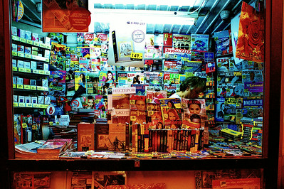 Newsstand in St. Petersburg