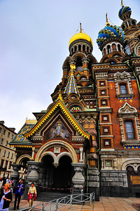 Church of the Savior on the Spilled Blood, exit