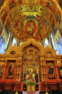Interior:  Church of the Savior on the Spilled Blood