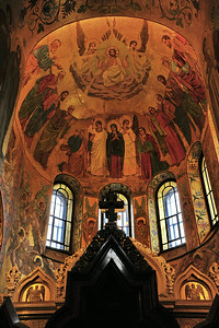 Interior:  Church of the Savior on the Spilled Blood  Ceiling