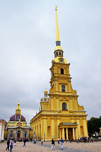 Peter and Paul Church, resting place of Russian czars