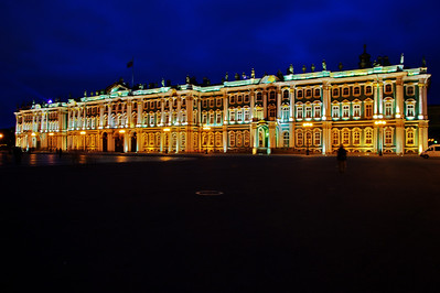 The State Hermitage: (Russian: Государственный Эрмитаж) is a museum of art and culture in Saint Petersburg, Russia. One of the largest[2] and oldest museums of the world, it was founded in 1764 by Catherine the Great and has been opened to the public since 1852. Its collections, of which only a small part is on permanent display, comprise nearly 3 million items,[3] including the largest collection of paintings in the world. The collections occupy a large complex of six historic buildings along Palace Embankment, including the Winter Palace, a former residence of Russian emperors. Apart from them, the Menshikov Palace, Museum of Porcelain, Storage Facility at Staraya Derevnya and the eastern wing of the General Staff Building are also part of the museum. The museum has several exhibition centers abroad. The Hermitage is a federal state property. Since 1990, the director of the museum has been Mikhail Piotrovsky.  source:  Wikipedia