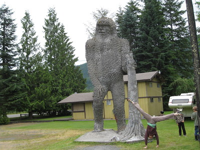 Stacee Calderon - Big Foot Sighting Location -  Washington - USA