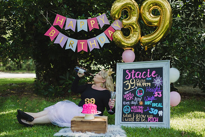 Stacie is 39!