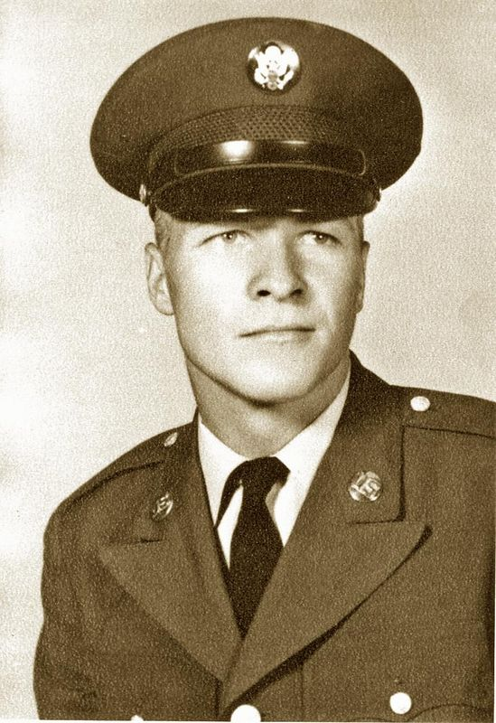 (GASS-19) A formal photograph of Gary Alan Stading, Orange County, CA, in dress greens. Stading was KIA 25 Apr 68.