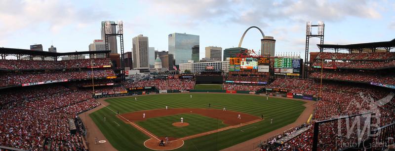 Busch Stadium - St. Louis Cardinals - St. Louis Skyline