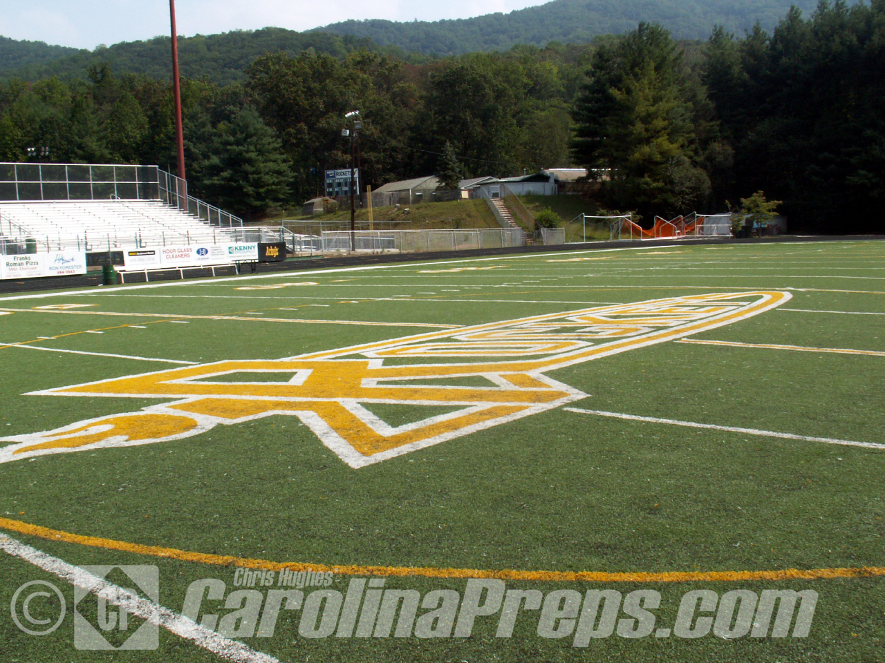 R.L. Dalton Stadium @ A.C. Reynolds High School in Asheville, N.C.<br /> <br /> Photo Credit: Chris Hughes 8/31/2008