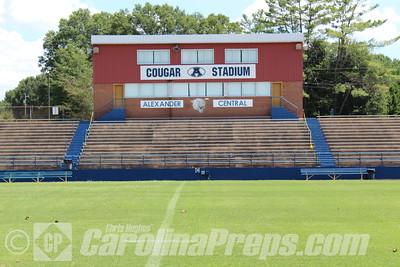 Alexander Central - Glenn G. Wilson Field at Cougar Stadium