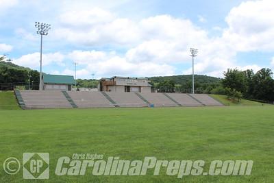 Alleghany High School - Woodruff Field