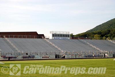 Husky Stadium @ Ashe County High School, West Jefferson, N.C.  Photo Credit: Chris Hughes 7/23/2010