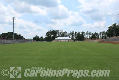 Lee J. Stone Stadium, Home of the Asheboro Blue Comets.  Photo Credit: Chris Hughes 7/17/2015