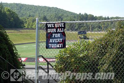 MacDonald Stadium, Home of the Avery County Vikings.  Newland, N.C.  Photo Credit: Chris Hughes 7/24/2011
