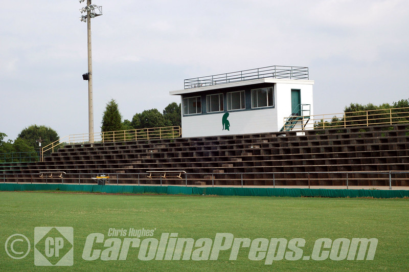 Bandys High School Stadium at Bandys High School, Home of the Trojans.<br /> <br /> Photo Credit: Chris Hughes 6/30/2010