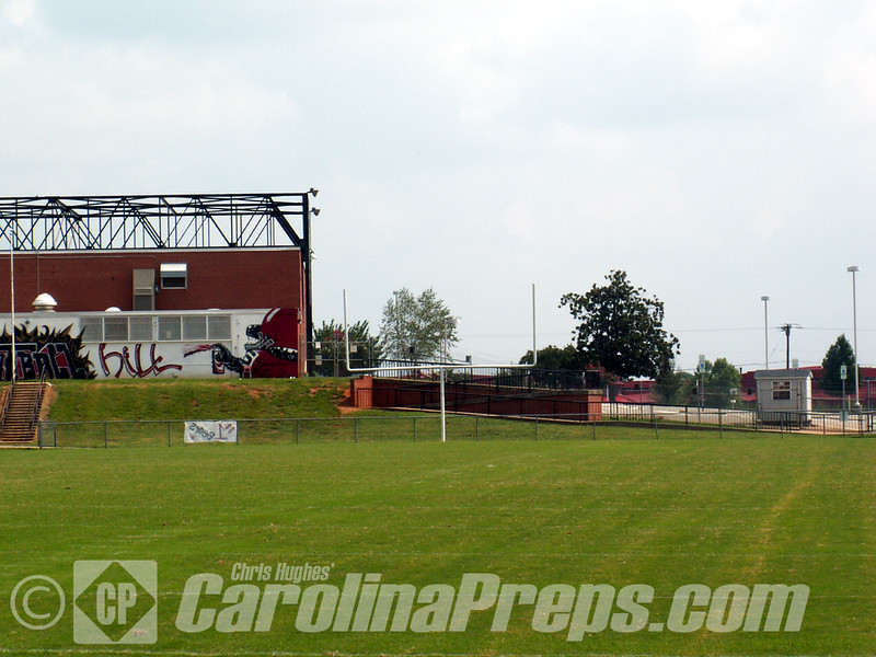 Bunker Hill Stadium, Home of the Bunker Hill Bears, Claremont, NC.<br /> <br /> Photo Credit: Chris Hughes 8/31/2008