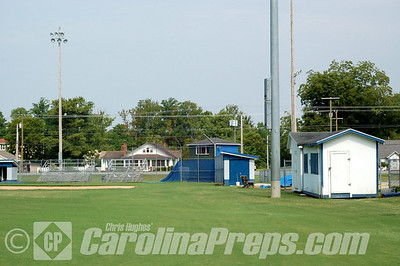 Camden Yard, Home of the Camden County Bruins, Camden, NC.  Photo Credit: Chris Hughes 8/4/2010