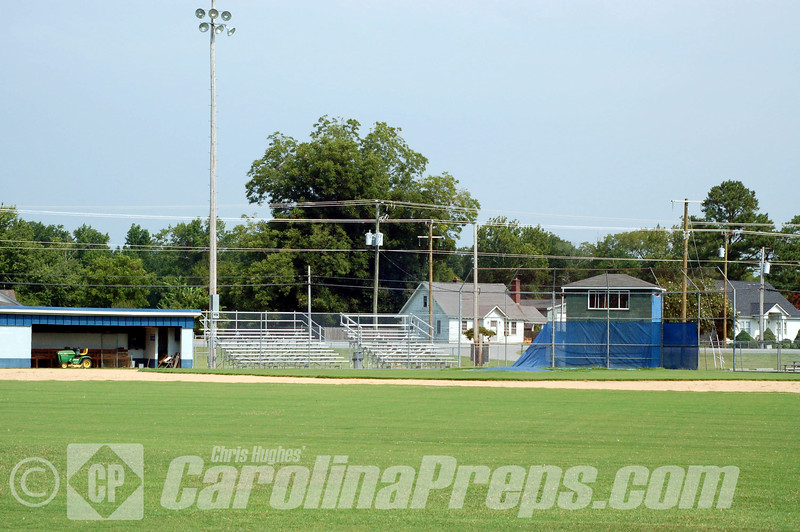 Camden Yard, Home of the Camden County Bruins, Camden, NC.<br /> <br /> Photo Credit: Chris Hughes 8/4/2010