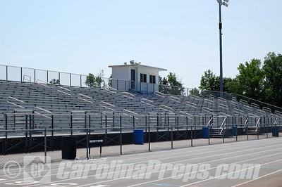 Jesse C. Carson Stadium, Home of the Carson Cougars, China Grove, NC.  Photo Credit: Chris Hughes 5/15/2010