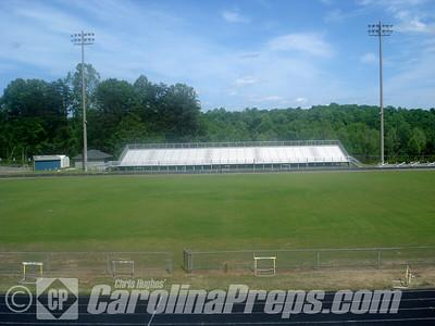 David L. Lash Stadium, Home of the George Washington Carver Yellow Jackets, Winston-Salem, NC.  Photo Credit: Chris Hughes 5/10/2008