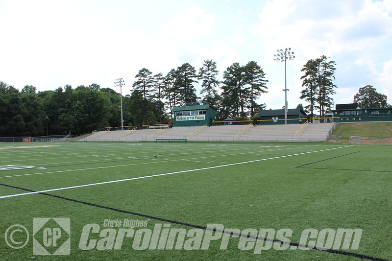 Viking Stadium - Home of the Central Cabarrus Vikings.<br /> <br /> Photo Credit: Chris Hughes - 7/17/2015