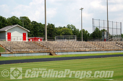 Spartan Community Stadium, Home of the Central Davidson Spartans, Lexington, NC.  Photo Credit: Chris Hughes 8/8/2010