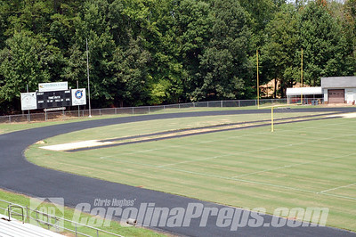 Spartan Community Stadium, Home of the Central Davidson Spartans, Lexington, NC.  Photo Credit: Chris Hughes 8/8/2010